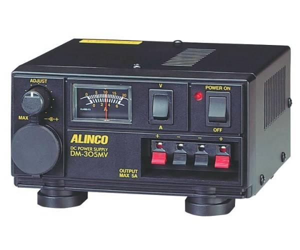 アルインコ 無線機器用安定化電源器 DM-305MV Max 5A(新品)