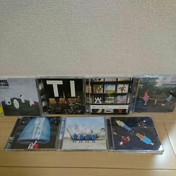 KANA-boon CD 僕がCDを出したら TI(DVD付) DOPPELフルドライブ など計7枚  ライブグッズの画像