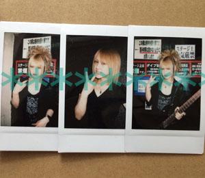 D(ディー)★Ruiza ソロチェキ HIDE-ZOU HIROKI ASAGI