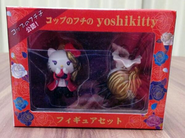 コップのフチのyoshikitty X JAPAN YOSHIKI コップのフチ子 公認