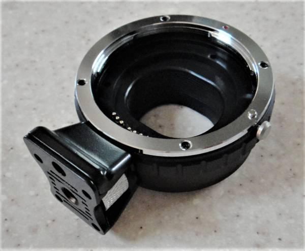 金属製三脚座 社外品Canon EF - Canon EOS M M2 M3 M5 M10 AF/オートフォーカス マウントアダプター 電子接点 絞りOK