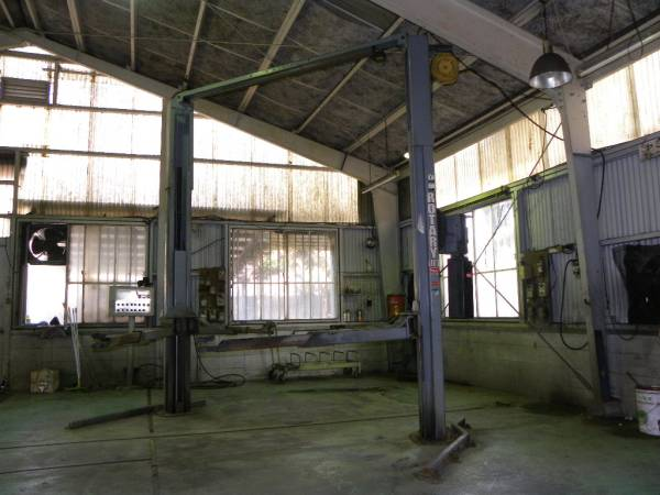 中古 門型リフト 3トン バンザイ SPOA7-PZAW 洗車対応 オフセットアーム ロータリーゲート SPOA7-217