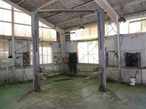 中古 門型リフト 3トン バンザイ SPOA7-PZAW 洗車対応 オフセットアーム ロータリーゲート SPOA7-217_画像2