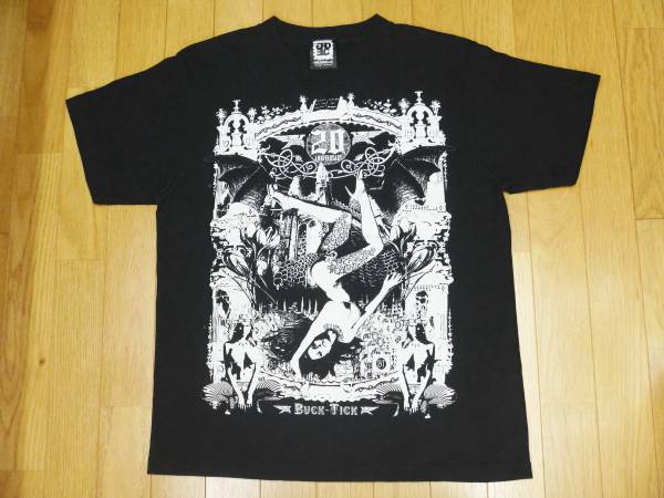 【 BUCK-TICK 】20th Anniversary プリントTシャツ 黒
