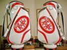 未使用 KitKat キットカット エナメル素材 白赤 3点式バッグ