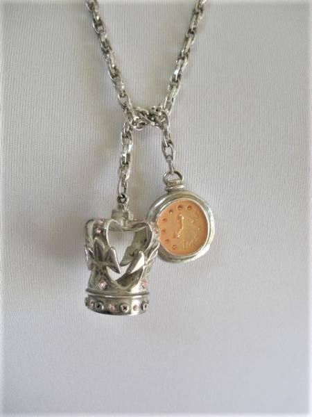 王冠懐中時計モチーフラリエッタ ネックレス JaneMarple ジェーンマープル