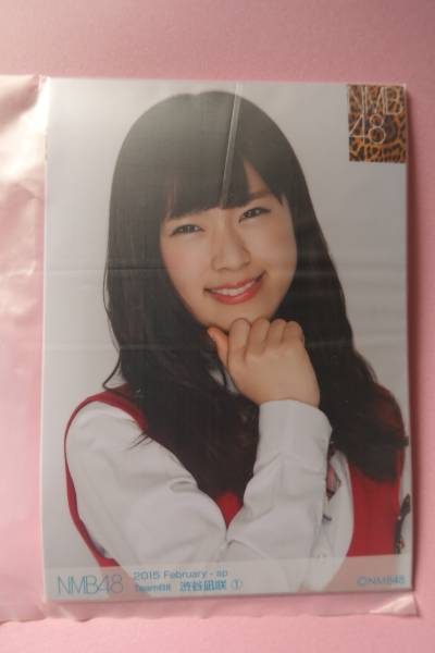 AKB48 NMB48 個別生写真5枚セット 2015 February 渋谷凪咲 ライブ・総選挙グッズの画像