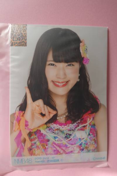 AKB48 NMB48 個別生写真5枚セット 2015 June 渋谷凪咲 ライブ・総選挙グッズの画像