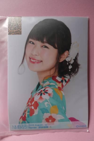 AKB48 NMB48 個別生写真5枚セット 2015 August 渋谷凪咲 ライブ・総選挙グッズの画像