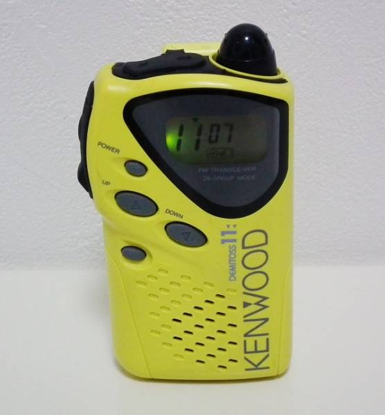 KENWOOD UBZ-LF11 DEMITOSS 特定小電力トランシーバー