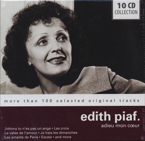 新品10CD♪エディット・ピアフ★シャンソン フレンチ 愛の讃歌 バラ色の人生_画像はイメージです