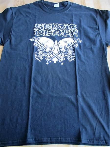 Septic Death Tシャツ 黒L / pushead metallica napalm death
