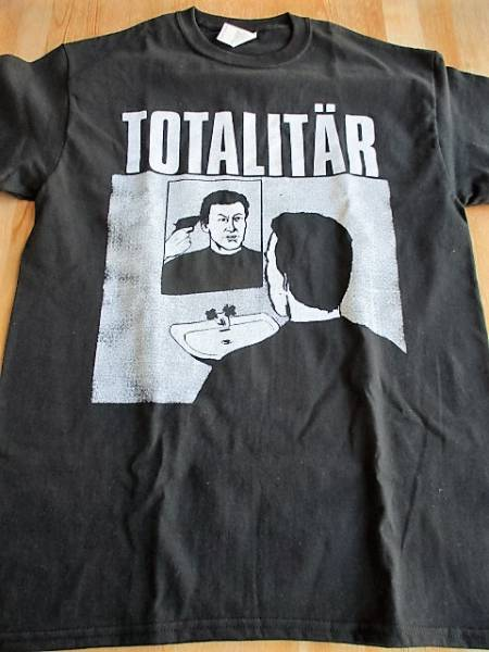 TOTALITAR Tシャツ 黒M / discharge diskonto disfear black flag