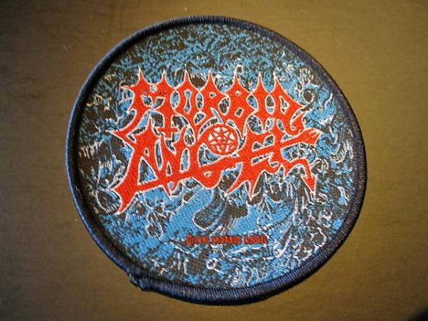 MORBID ANGEL 丸形刺繍パッチ ワッペン / death slayer kreator sodom possessed