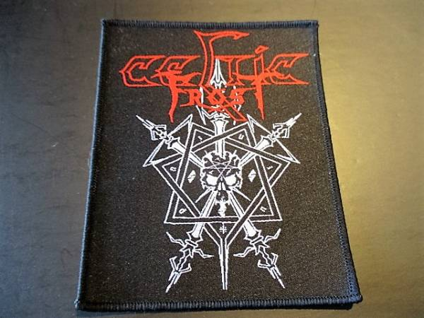 CELTIC FROST 刺繍パッチ ワッペン morbid tales / slayer kreator sodom hellhammer bathory