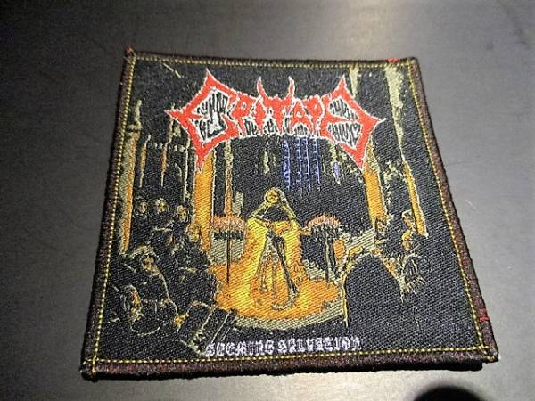 EPITAPH 刺繍パッチ ワッペン Seeming Salvation / exhumed autopsy obituary carcass morbid angel entombed