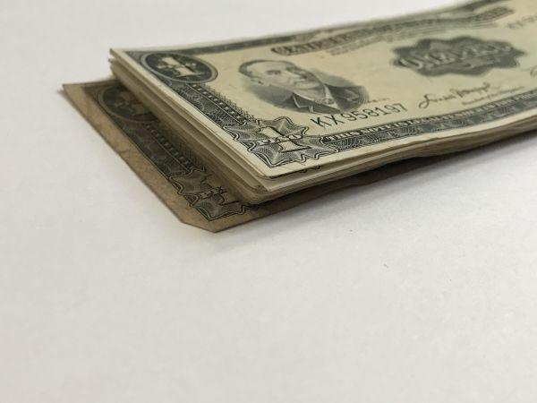 古い外国紙幣 フィリピン 1ペソ 30枚  / S514_画像2