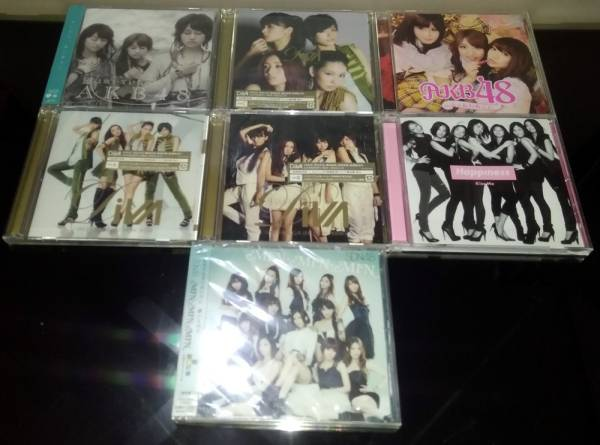 AKB48の、レア物のDVDとシングル盤 7枚 ⑫