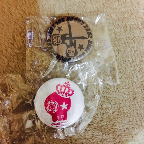 GRANRODEO ライブツアー 2008 DELIGHT 缶バッジ 谷山紀章 飯塚昌明
