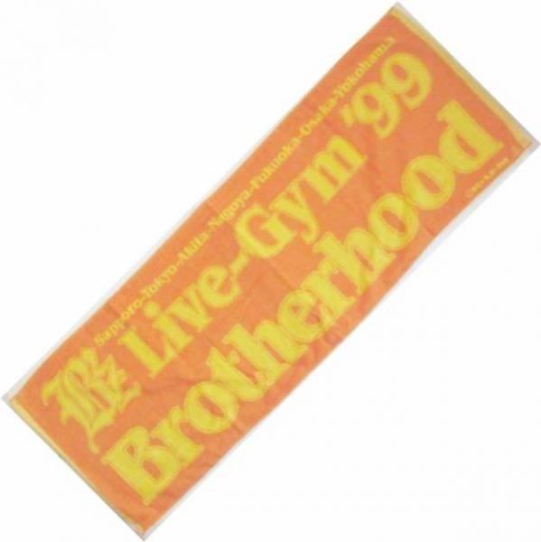 B'z LIVE GYM '99 Brotherhood タオル 稲葉浩志松本孝弘ビーズグッズ