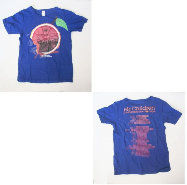 Mr.Children [(an imitation) blood orange]Tour Tシャツ Photograph ミスチル 桜井和寿 グッズ