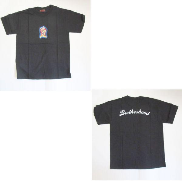 B'z LIVE GYM '99 Brotherhood Tシャツ(ブラック) 稲葉浩志松本孝弘ビーズグッズ