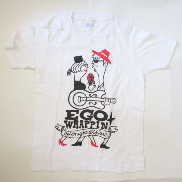 Ego-Wrappin Tシャツ エゴラッピングッズ