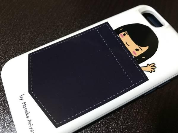 ★Momokakure iphoneケース(6/6s用)★有安杏果ソロライブ「ココロノセンリツ ~feel a heartbeat~ Vol.0」