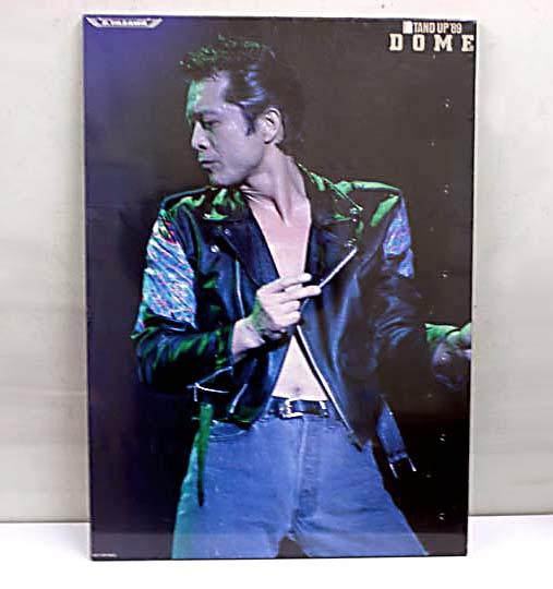 矢沢永吉 STAND UP '89 DOME ポスターパネル 非売品**