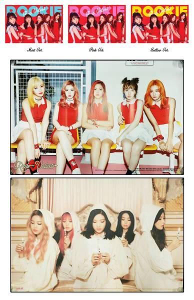 Red Velvet特典 【ポスター5枚/Rookie/Velvet/Russian Roulette 】レッドベルベット★3日以内到着
