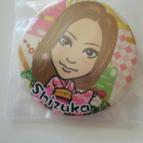 E-girls SHIZUKA 缶バッジ ライブグッズの画像