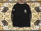 国内古着プリント和柄Tシャツ黒LL豊天商店「職人気質」綿100極美
