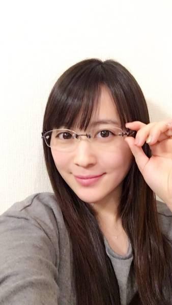 [3.11チャリティ]北乃きいさん 愛用メガネ と サイン・メッセージ付きメガネケース rfp1074