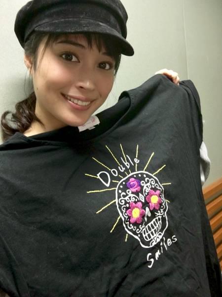 [3.11チャリティ]広瀬アリスさん デザインTシャツ (チチカカ・コラボ) rfp1074