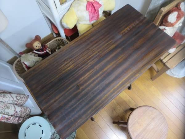 即決*アンティーク*シンガー足踏みミシン脚のテーブル 作業台_画像2