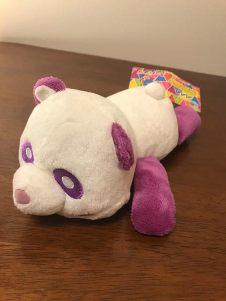 AAA ねそべり パンダ 紫
