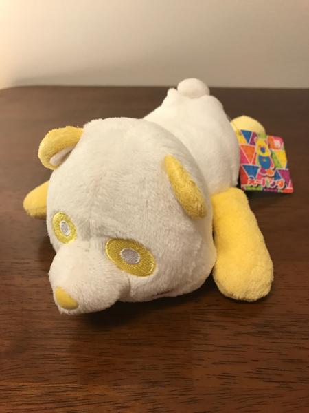 AAA ねそべり パンダ 黄色 タグ付き