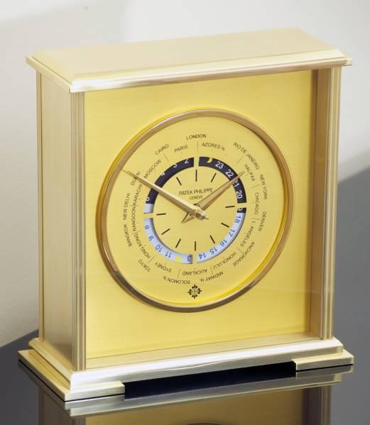 パテックフィリップの限定非売品ワールドタイム置時計  リシャールミルクストスロジェ