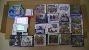 new ニンテンドー 3DS LL 本体 + ソフト中古まとめて ドラクエ7、ドラクエ8、モンスターズ、真女神転生など