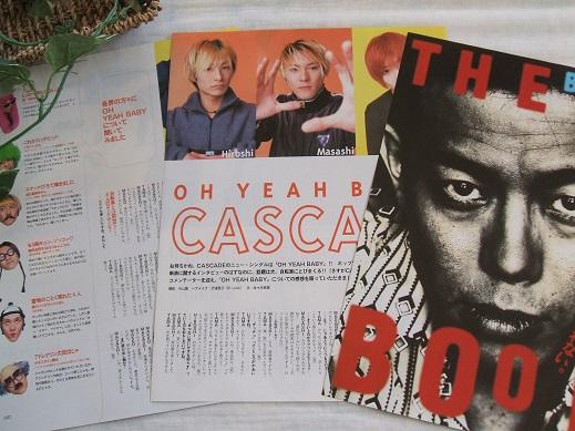 レア? ★20年前★ クール!! THE BOOM/宮沢和史/CASCADE*ステキな切り抜き♪