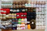 ■売切 大量 毛糸など まとめて 未使用~中古まで 編み物 手芸 ( シルクコットン ウール 毛 モヘア 羊毛 ( 東洋紡 ダイヤモンド毛糸 他