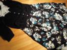 ローラアシュレイ フレアースカート 素敵な色柄◎ シックで上