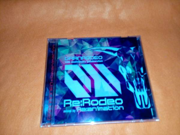 Re:RODEO 【GRANRODEO 10th Anniversary collaboration mixed by Re:animation】2015 GRANRODEOレンタル限定盤 ライブグッズの画像