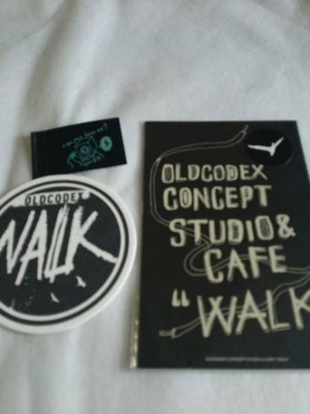 OLDCODEX WALK CAFE ポストカードセット おまけ付 ライブグッズの画像