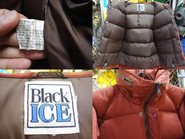 BLACK ICE ブラックアイス オールド ダウンジャケット ビンテージ_画像3