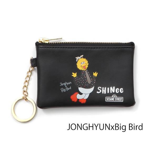 ☆SHINee world 2017 FIVE カードサイズポーチ ジョンヒョン セサミ JONGHYUN