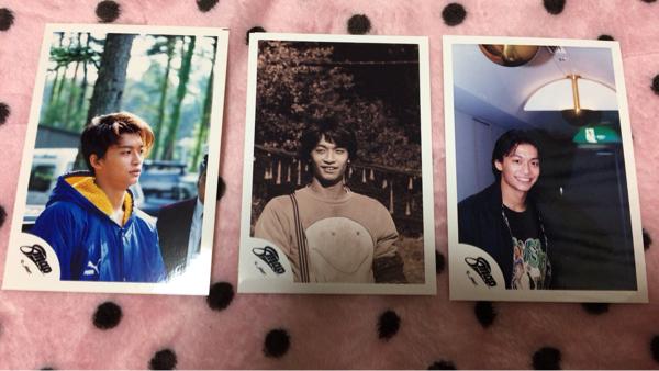 SMAP 香取慎吾 公式写真 3枚セット☆