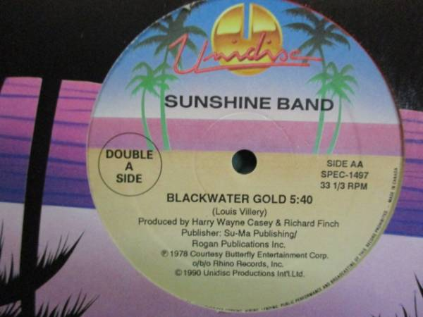 Brass Construction : Changin' c/w Sunshine Band - Blackwater Gold // 5点で送料無料 12''_画像2