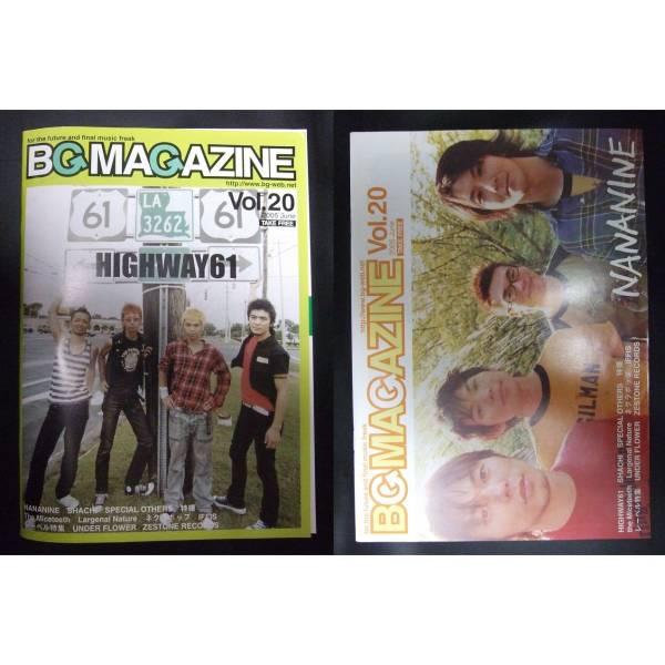 B G MAGAZINE vol.20 HIGHWAY61 NANANINE