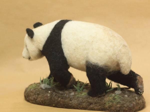 パンダ 羊毛フェルト ハンドメイド 0228_画像2
